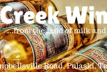 Big Creek Winery Tennessee / Vineyard and Orchard Wines - Vinted at the Winery. Come by to Taste for Free and take Wines Home.