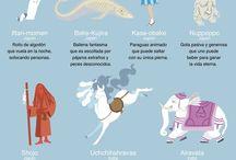 Criaturas de la Mitología
