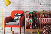 Quarto infantil e bebês / Idéias de decoração de quartos masculinos e femininos para bebês e crianças