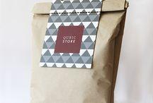 Shopping Bags / Shopping Bag Design Ideas