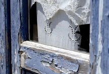 beautiful decay / Old buildings that are beautifully aged, things to be restored and wonderful textures.