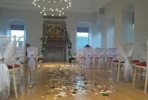 Wedding ideas set up