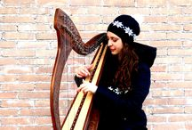Chiara's Carols / Here you can find photos and videos from my celtic harp&voice performances: I hope you enjoy them!