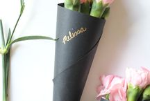 flowers wrapping