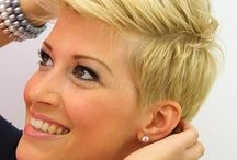 Női rövid frizurák