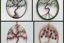 wire & beads art
