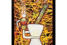 High End Art Collecting / High End Collectable Paintings.  Featuring works from famous  POP Artist Jonathan Circhansky.