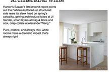 S/S 14 Interiors Trend: Architectural White