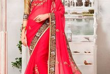 Magic & Love for Red / The magic of ‪#‎red‬ ‪#ensembles‬. Pick the best of ‪#‎sarees‬, ‪#‎anarkalis‬,‪ ‪#‎gowns‬ ,‪#‎lehengas‬ and more at deep discounts. Shop your Indian dress online at www.panashindia.com!