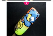 NAILS Next Top Nail Artist Challenge Entry / by Winnie (theRAWRshop)