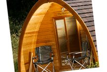 Quarry Pods / The luxury glamping experience on Dunsdon Farm