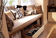 Living room / Window seat