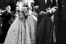 Classic celebrity wedding inspiration / Wedding dress shopping? Use these classic celebrity wedding dresses for inspiration!
