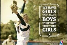 Softball / Inspiring and informational board for softball players, softball parents, and softball coaches!
