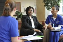 National Nurses Week 2014 / Whether providing inpatient or outpatient care, or caring for patients outside of the hospital — nurses bring a unique set of skills to the job. They are caregivers, educators, mentors, students and colleagues. During National Nurses Week, May 6-12, nurses across BJC share why they chose their profession, the changes they've witnessed and the rewards they've found. The common theme is that nursing is more than a profession — it's a passion. / by BJC HealthCare