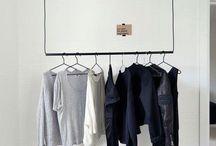 idées dressing / Organiser son linge