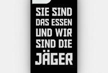 ❤️ Sie Sind Das Essen Und Wir Sind Die Jäger ❤️ / Attack on Titan is my literal fave, don't hate because I am this trashy ok ok I need this board !!!!!!!
