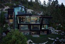 Liste de luxe du jour: Maison de ski futuriste de.7M au Nevada Par Oliver Luxury Real Estate