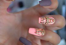 Nail art ongle long ♡