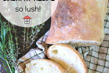 Yummy bread recipes / I love the smell of homemade bread. Collection of easy recipes for busy moms!