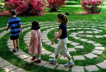 GARDEN: Play Gardens / Creating exciting, educational, and interesting natural playscapes for children to experience the garden. / by Stephanie @ Garden Therapy