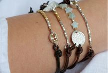 cord and bead bracelet design / by Jeanine Cogan