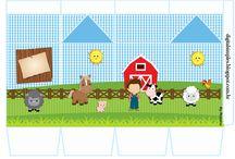 kit imprimible animales de la granja