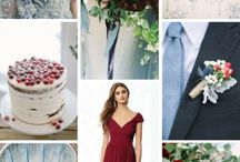 Styled Shoot: Dusty Blue & Cranberry