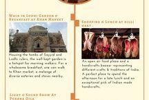 Kamalan Curations: Travel info-graphics on India
