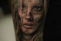 Womans tatto