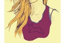 rocking mice artwork / illustration