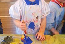 Our toddler art classes / Squish, squidge, paint, sing, dance, explore!