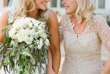/ brides with mums / / Today, in honour of Mother's Day, we're celebrating those beautiful moments between brides with their mums. We've put together some of the most emotional images of beautiful brides with the mother of the bride.