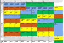 Schedule ideas-autism