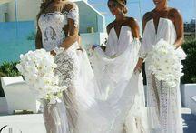 wedding - Bride/ Bm hairpiece