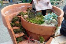 Garten-Pflanzentopf