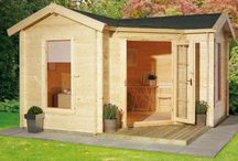 Shed 庭の小屋