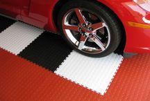 PVC Garage Tiles