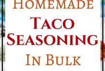 Homeade Seasoning