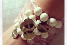 HANDMADE JUICY BRACELETS / handmade+silver+natural stones+fruits+sun=our summer collection of juicy bracelets! www.e-taranko.com