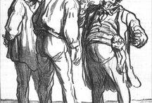 Daumier, Honoré - Desenho / Drawing