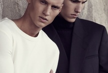 male editorial makeup