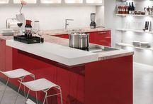 Keukenbladen / De laatste trends op het gebied van keukenbladen