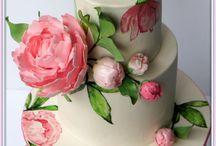 рисунки на тортах (интернет)