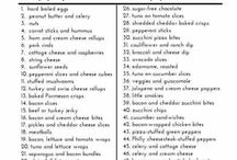 low carb/calorie snacks