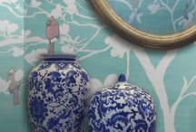 Chinoiserie / Scenoiserie Chic / Chinoiserie removable wallpaper, reusable mural panels + East Asia travel landscape scenes are all a part of Casart Coverings Scenoiserie Collection. Mix and match to create your own design.