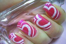 Nails - Valentines / by kristi Lupkes