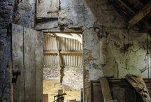Viejo / Viejo Antiguo Abandonado o Restaurado