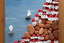 πινακας με πετρες