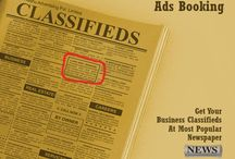 NEWSPAPER CLASSIFIED AD BOOKING